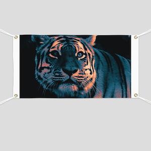 Tiger, Sunset Banner