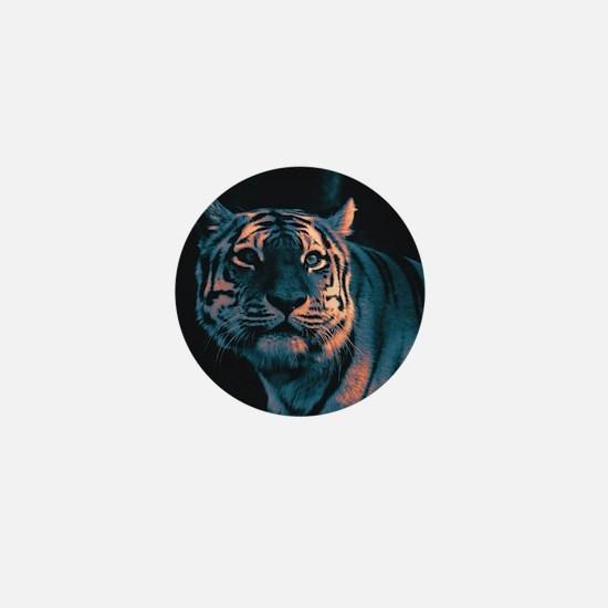 Tiger, Sunset Mini Button