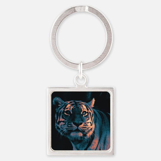 Tiger, Sunset Keychains