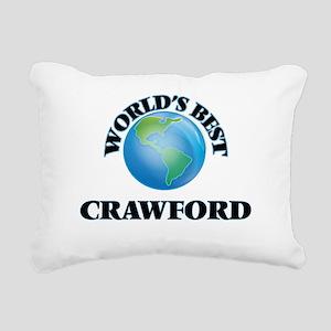 World's Best Crawford Rectangular Canvas Pillow