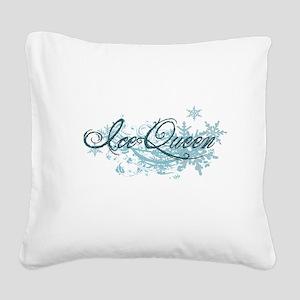 icequeentshirtC Square Canvas Pillow