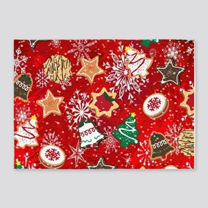 Christmas Cookies 5'x7'Area Rug