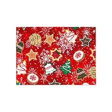 Christmas Cookies 5'x7'Area Rug