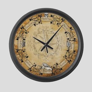 HP Clock Large Wall Clock