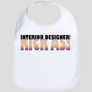 Interior Designers Kick Ass Bib