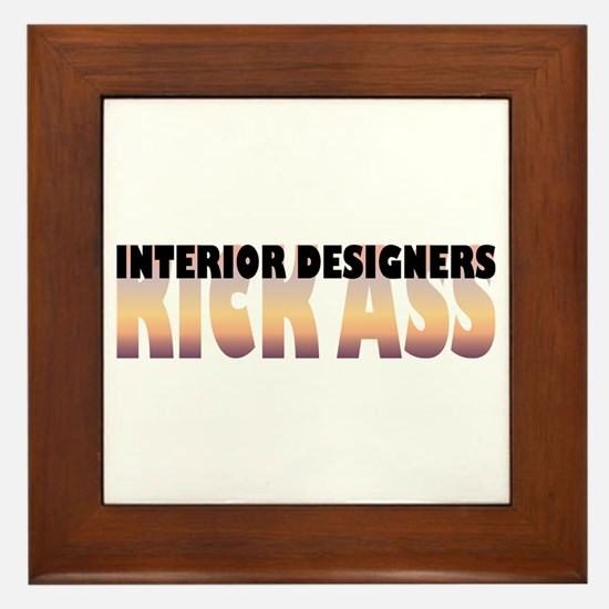 Interior Designers Kick Ass Framed Tile