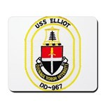 USS ELLIOT Mousepad