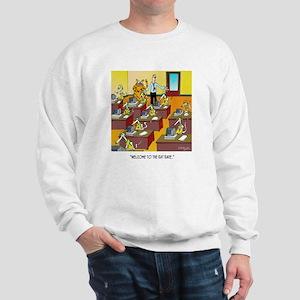 Cat Cartoon 6894 Sweatshirt
