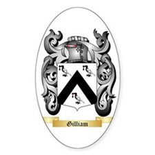 Gilliam Sticker (Oval)