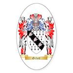 Gillett Sticker (Oval 50 pk)