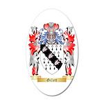 Gillett 35x21 Oval Wall Decal