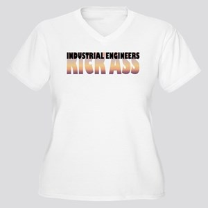 Industrial Engineers Kick Ass Women's Plus Size V-