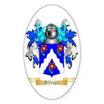 Gillespie Sticker (Oval)