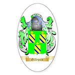 Gillequin Sticker (Oval 50 pk)