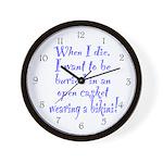 Bikini Shape Wall Clock
