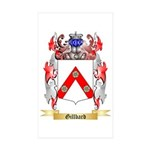 Gillbard Sticker (Rectangle 50 pk)