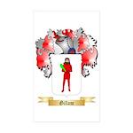 Gillam Sticker (Rectangle 10 pk)