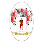 Gillam Sticker (Oval)