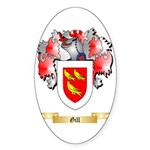 Gill Sticker (Oval 50 pk)