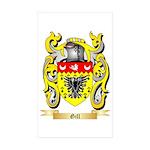 Gill England Sticker (Rectangle 50 pk)