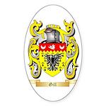 Gill England Sticker (Oval 50 pk)