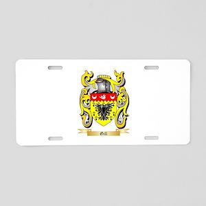Gill England Aluminum License Plate