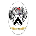 Gilks Sticker (Oval 50 pk)