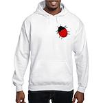 Lucky Ladybug Hooded Sweatshirt