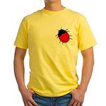 Lucky Ladybug Yellow T-Shirt