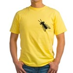 House Fly Yellow T-Shirt