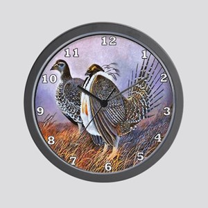 Sage Grouse Wall Clock