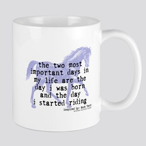 The Day I Started Riding Mug