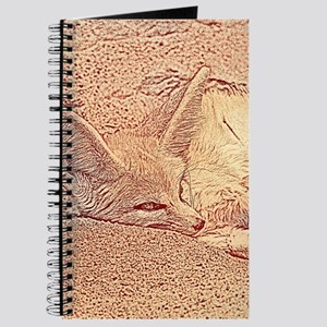 Sketchy fennec fox Journal