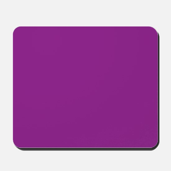 Orchid Solid Color Mousepad