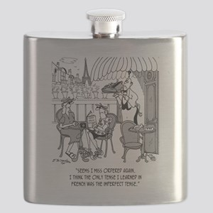 French Cartoon 4932 Flask