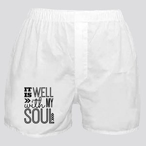 It is Well With My Soul Boxer Shorts