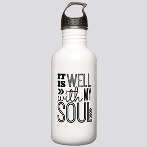 It is Well With My Sou Stainless Water Bottle 1.0L