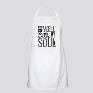 It is Well With My Soul Apron
