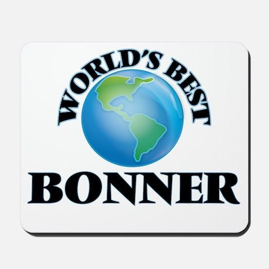 World's Best Bonner Mousepad