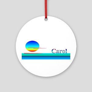 Carol Ornament (Round)