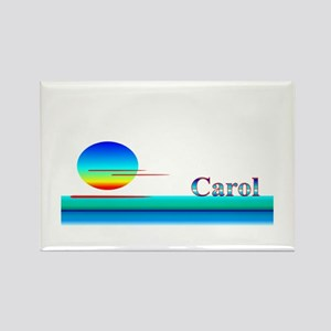 Carol Rectangle Magnet