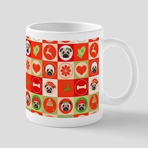 Christmas Pugs Mug