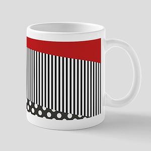 Red Pattern Mug