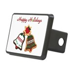 Christmas Cookie Bells Hitch Cover
