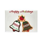 Christmas Cookie Bells Magnets