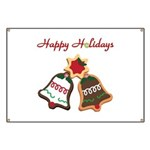 Christmas Cookie Bells Banner