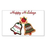 Christmas Cookie Bells Sticker