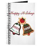 Christmas Cookie Bells Journal