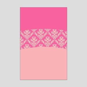 Pink Lace Mini Poster Print