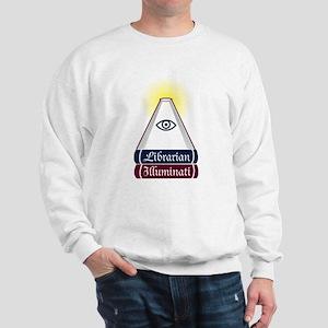 Librarian Illuminati Sweatshirt